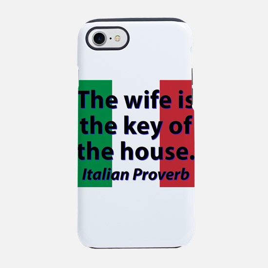 The Wife Is The Key iPhone 7 Tough Case