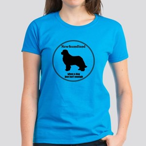 Newf Enough Women's Dark T-Shirt