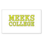 MeeksCollege Sticker