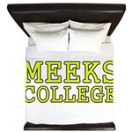 MeeksCollege King Duvet