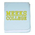 MeeksCollege baby blanket