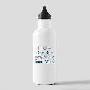 One Run Away Good Mood Water Bottle