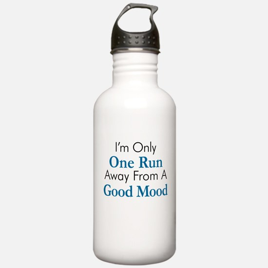 One Run Away Good Mood Water Bottle