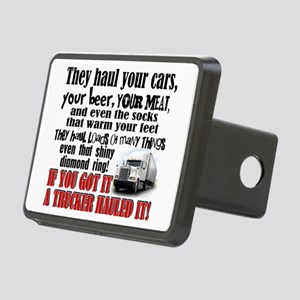 Trucker Hauled It Hitch Cover