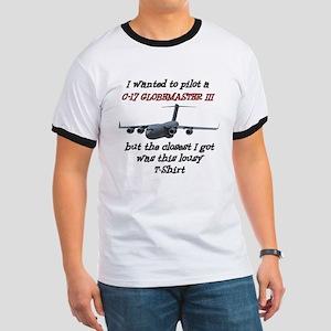 C-17 Globemaster Humour Ringer T
