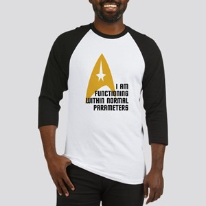 Star Trek - Normal Parameters Baseball Jersey