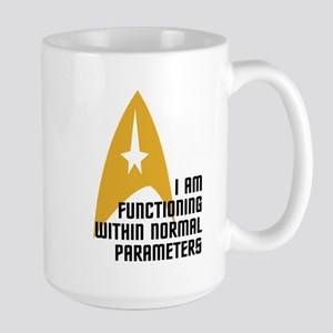 Star Trek - Normal Parameters Large Mug