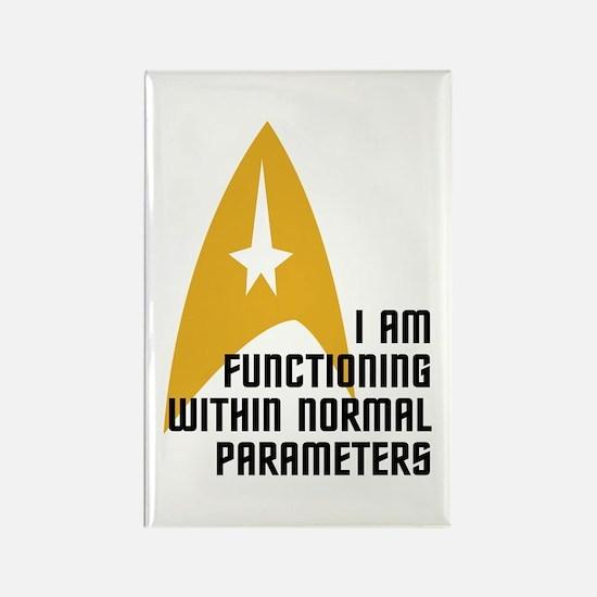 Star Trek - Normal Parameters Rectangle Magnet