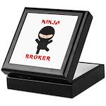 Ninja Broker Keepsake Box