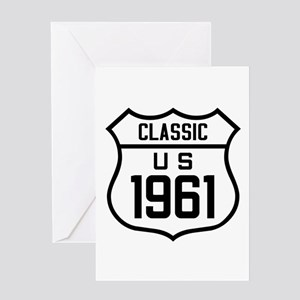 Classic US 1961 Greeting Cards