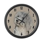 Havanese (Gold Sable) Large Wall Clock