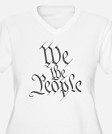We the People Plus Size T-Shirt