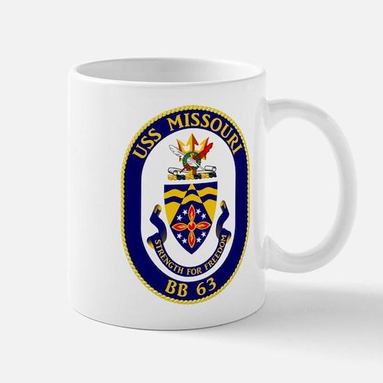 USS Missouri BB-63 Mugs