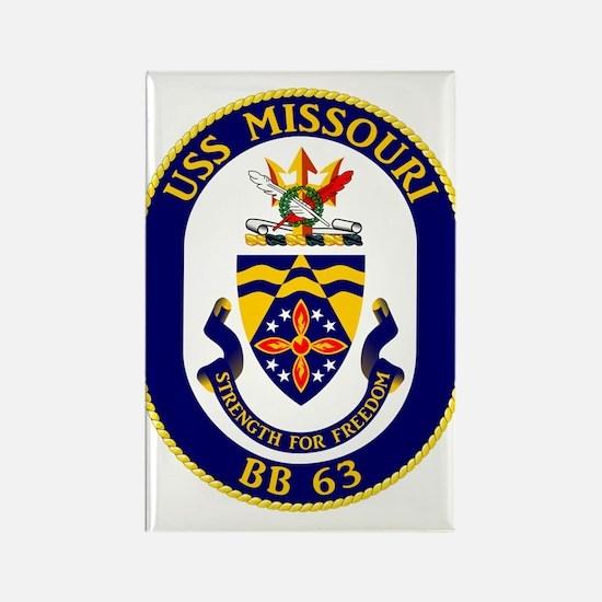 USS Missouri BB-63 Magnets