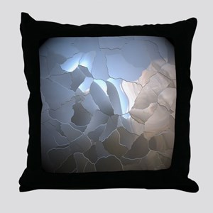 Cracked Pearl Throw Pillow