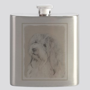 Havanese (Gold Sable) Flask