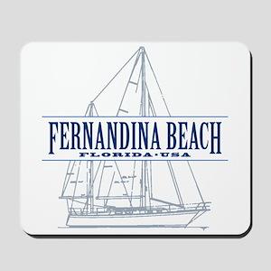 Fernandina Beach- Mousepad