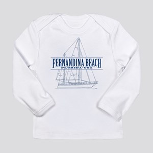 Fernandina Beach- Long Sleeve Infant T-Shirt
