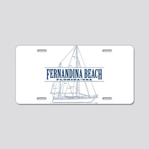 Fernandina Beach- Aluminum License Plate