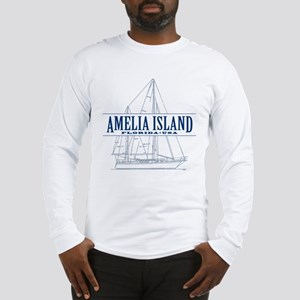Amelia Island - Long Sleeve T-Shirt