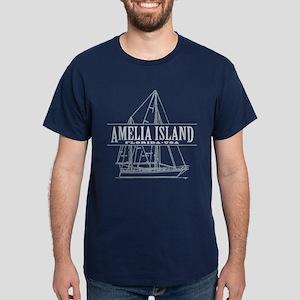 Amelia Island - Dark T-Shirt
