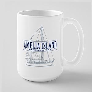 Amelia Island - Large Mug