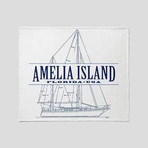 Amelia Island - Throw Blanket