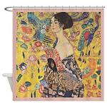 Klimt Shower Curtain 4