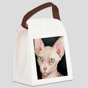 Cat 412 sphynx Canvas Lunch Bag