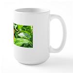 Orange Butterfly Large Mug
