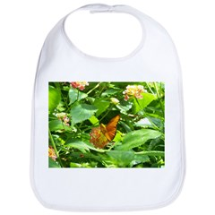 Orange Butterfly Bib