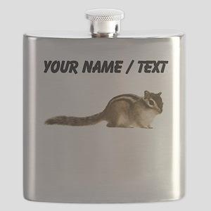 Custom Chipmunk Flask