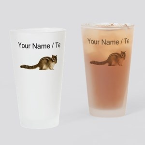 Custom Chipmunk Drinking Glass