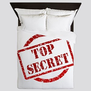 Top secret Queen Duvet