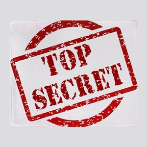 Top Secret Throw Blanket