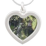 Under the Falls Silver Heart Necklace
