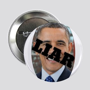 "Obama is a Liar 2.25"" Button (100 pack)"