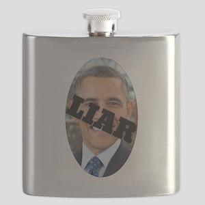 Obama is a Liar Flask
