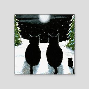 "Cat 429 Square Sticker 3"" x 3"""