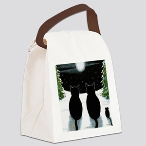 Cat 429 Canvas Lunch Bag