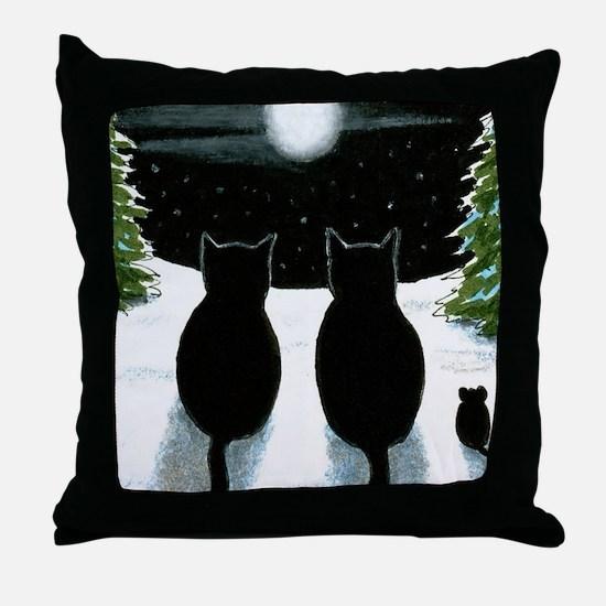Cat 429 Throw Pillow