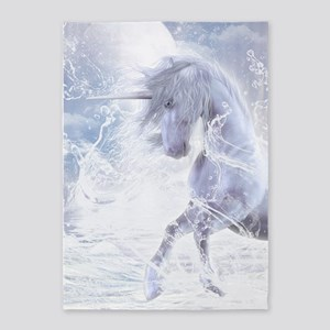 A Dream Of Unicorn 5'x7'Area Rug