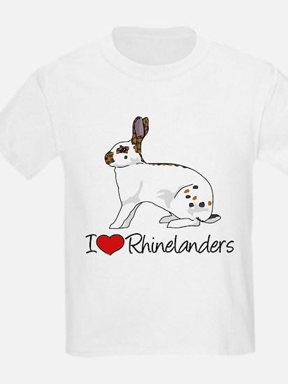 I Heart Rhinelander Rabbits T-Shirt