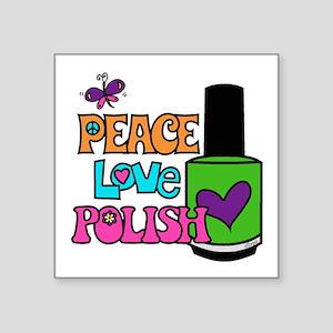 Peace Love Polish Sticker