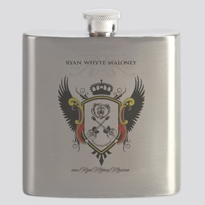 Rwm Crested Flask With Color