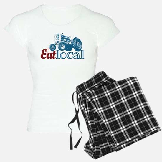 Eat Local Patriotic Pajamas