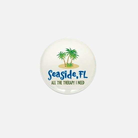 Seaside FL Therapy - Mini Button