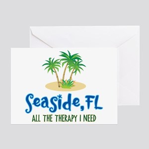 Seaside FL Therapy - Greeting Card