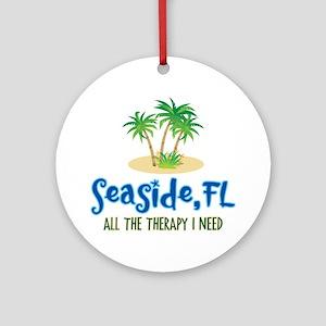 Seaside FL Therapy - Ornament (Round)