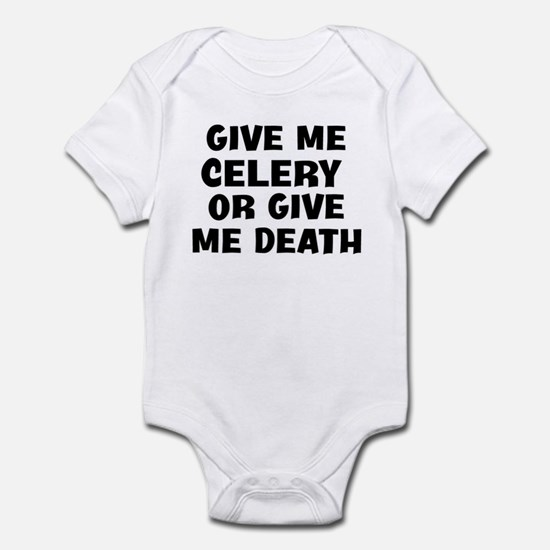 Give me Celery Infant Bodysuit